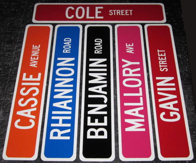 Personalized Street Signs >> Street Signs Personalized Street Signs Sign Brackets